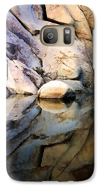 Galaxy Case featuring the photograph Where We Meet by Kathy Bassett
