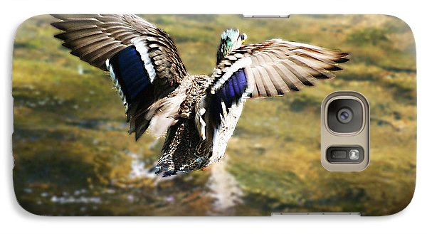 Galaxy Case featuring the photograph Where's The Breaks by B Wayne Mullins
