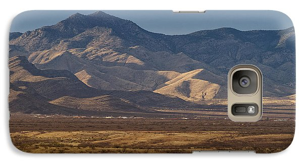 Galaxy Case featuring the photograph Whetstones At Sunset by Beverly Parks