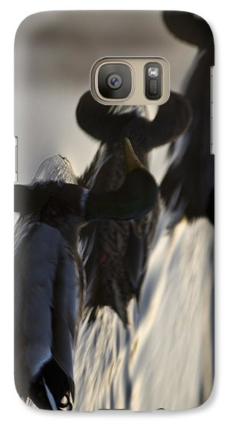 Which Way Is Up Galaxy S7 Case by Robert Culver