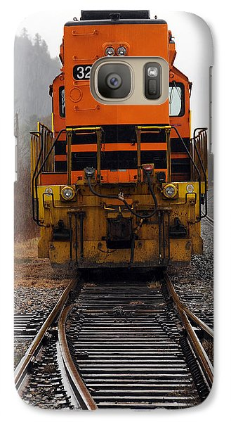 Galaxy Case featuring the photograph Which Way by Mike Martin