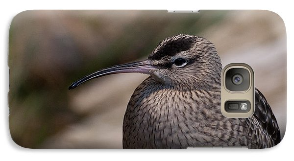 Galaxy Case featuring the photograph Whimbrel by Bianca Nadeau