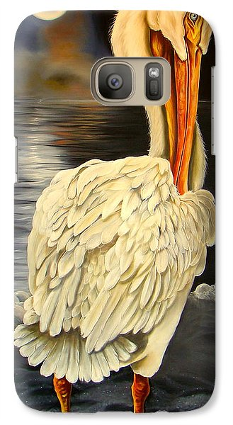 Galaxy Case featuring the painting Whisper And Shout by Phyllis Beiser