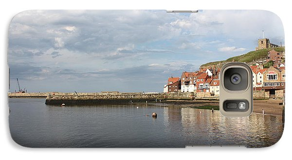 Galaxy Case featuring the photograph Whitby Abbey N.e Yorkshire by Jean Walker