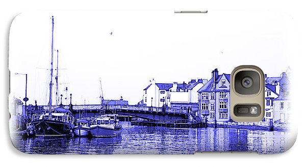 Galaxy Case featuring the photograph Whitby Harbor by Jane McIlroy