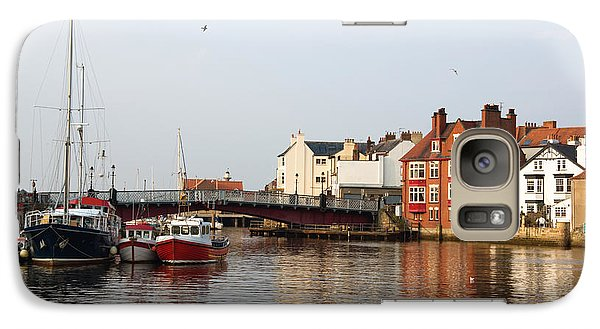 Galaxy Case featuring the photograph Whitby Harbour by Jane McIlroy