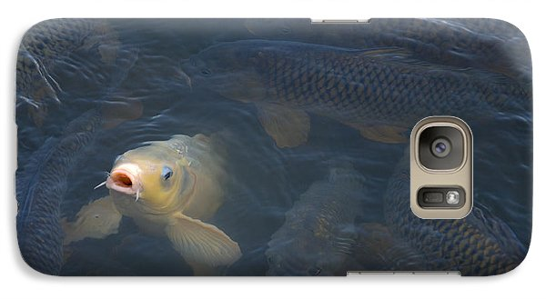 White Carp In The Lake Galaxy S7 Case