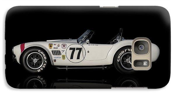 White Cobra Galaxy Case by Douglas Pittman