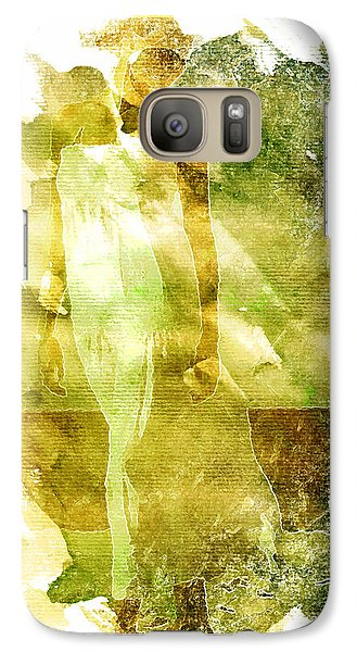 Galaxy Case featuring the digital art White Dress by Andrea Barbieri