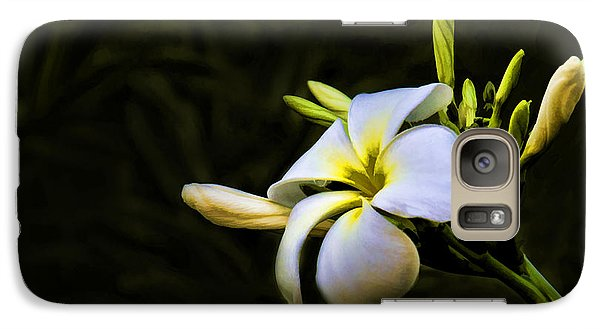 Galaxy Case featuring the photograph White Flower by Don Durfee