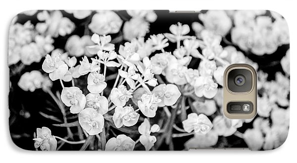Galaxy Case featuring the photograph White Flowers  by Craig Perry-Ollila