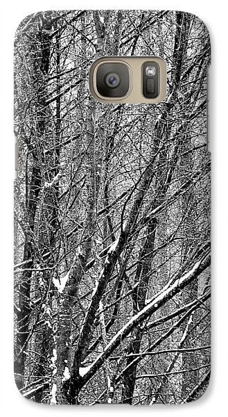 White Forest Galaxy S7 Case