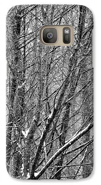Galaxy S7 Case featuring the photograph White Forest by Marc Philippe Joly