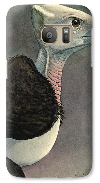White Headed Vulture Galaxy S7 Case