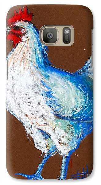 White Hen Galaxy S7 Case by Mona Edulesco