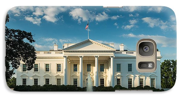 White House Sunrise Galaxy Case by Steve Gadomski