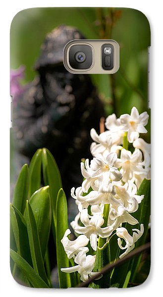 White Hyacinth In The Garden Galaxy S7 Case by  Onyonet  Photo Studios