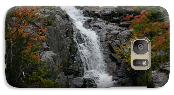 Galaxy Case featuring the photograph White Mountain Water Fall  by Denyse Duhaime