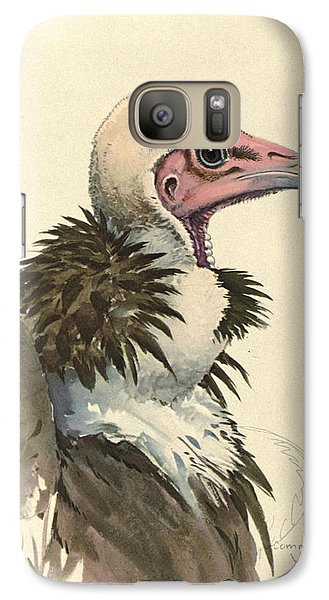 White Necked Vulture Galaxy S7 Case