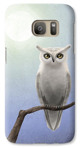 White Owl Galaxy S7 Case