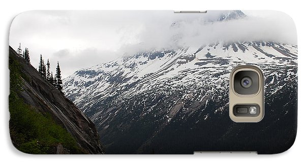 Galaxy Case featuring the photograph White Pass Railroad View by Robert  Moss
