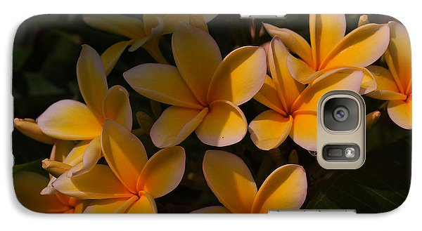 Galaxy Case featuring the photograph White Plumeria by Miguel Winterpacht