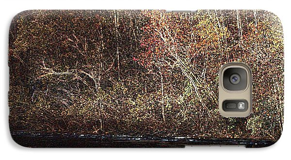 Galaxy Case featuring the photograph White River by Donna Smith