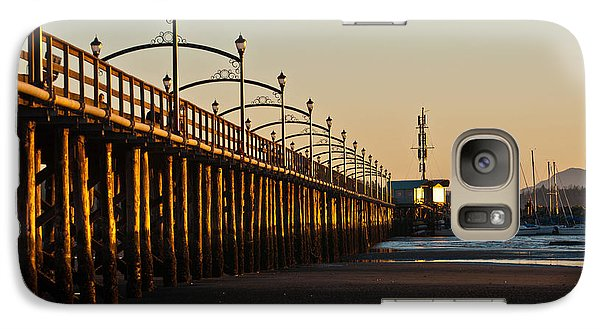 Galaxy Case featuring the photograph White Rock Pier by Sabine Edrissi