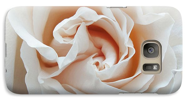 Galaxy Case featuring the photograph White Rose by Tiffany Erdman