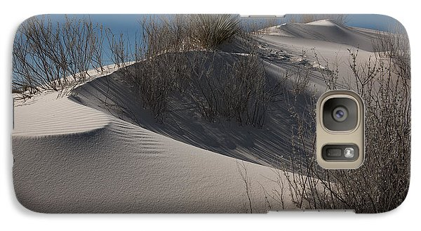 Galaxy Case featuring the photograph White Sand Dune by Sherry Davis