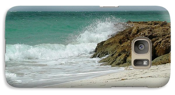 Galaxy Case featuring the photograph White Sands by Judy Palkimas