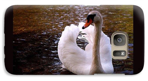 White Swan Galaxy S7 Case