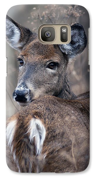Galaxy Case featuring the photograph White-tail Beauty by Timothy McIntyre