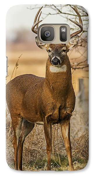 Galaxy Case featuring the photograph White-tail Buck by Rob Graham