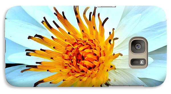 Galaxy Case featuring the photograph White Water Lilly II by Jodi Terracina