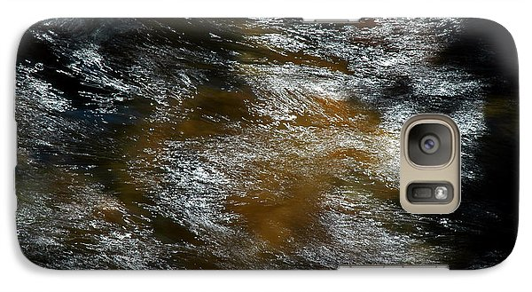 Galaxy Case featuring the photograph White Water Pisgah Forest by Allen Carroll
