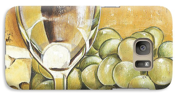 White Wine And Cheese Galaxy S7 Case by Debbie DeWitt