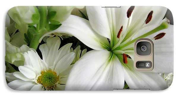 Galaxy Case featuring the photograph White Wonder by Rory Sagner