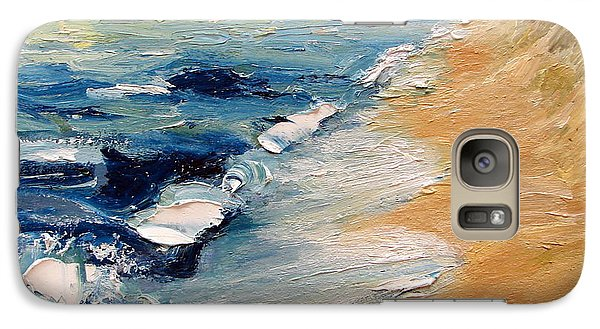 Whitecaps On Lake Michigan 3.0 Galaxy S7 Case