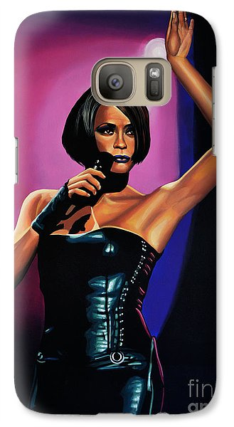 Whitney Houston On Stage Galaxy S7 Case