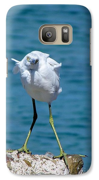Galaxy Case featuring the photograph Who You Lookin At? by Meagan  Visser