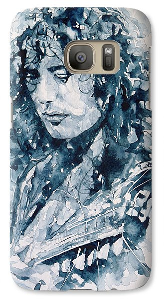 Musicians Galaxy S7 Case - Whole Lotta Love Jimmy Page by Paul Lovering