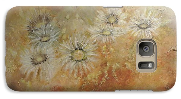 Galaxy Case featuring the painting Whoopsy Daisies by Tamara Bettencourt