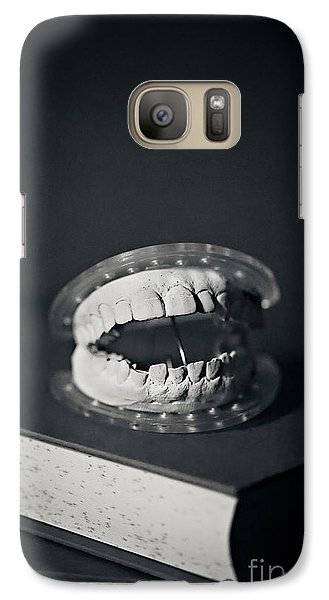 Galaxy Case featuring the photograph Whose Teeth Are These? by Trish Mistric