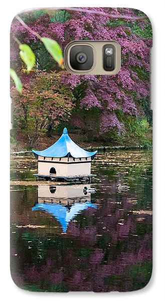 Galaxy Case featuring the photograph Wickham Oriental Pond by Dawn Romine