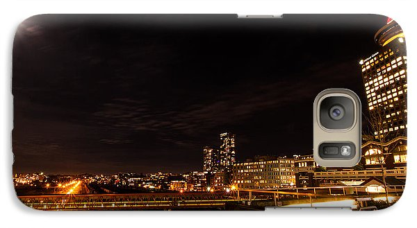 Galaxy Case featuring the photograph Wide-angle Vancouver by Haren Images- Kriss Haren