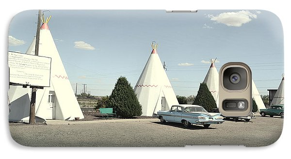 Galaxy Case featuring the photograph Wigwams In Arizona by Utopia Concepts