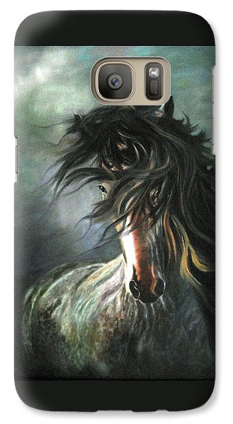 Galaxy Case featuring the painting Wild And Free by LaVonne Hand