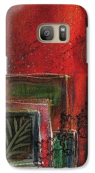 Galaxy Case featuring the painting Wild At Heart by Nicole Nadeau