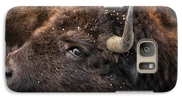 Wild Eye - Bison - Yellowstone Galaxy S7 Case